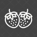 Strawberries Icon