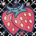 Strawberries Berries Fruit Icon