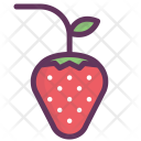 Strawberries Romantic Gift Icon
