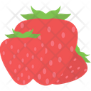 Berry Fruit Healthy Diet Icon