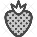 Strawberry Garden Berry Icon