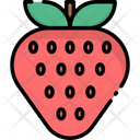 Strawberry Fruit Food Icon