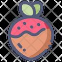 Strawberry Chocolate Sweet Icon