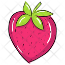 Strawberry Fruit Nutritious Food Icon