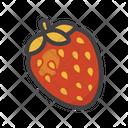 Strawberry Fruit Fruit Game Icon