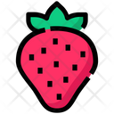 Spring Fruit Strawberry Icon