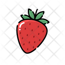 Strawberry Icon Fruit Food And Drink Icon