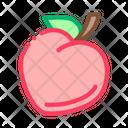Heart Shaped Fruit Icon