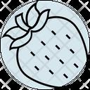 Summer Strawberry Fruit Icon
