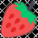 Strawberry Fruit Nutritious Icon
