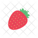 Strawberry Fruit Sweets Icon