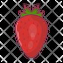 Strawberry Fruit Juicy Icon