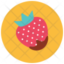 Strawberry Chocolate Covered Icon