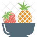 Pineapple Strawberry And Icon