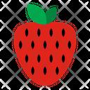 Strawberry Fruits Fruit Icon