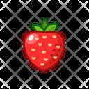 Strawberry Fruits Fruite Icon