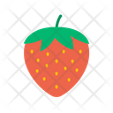 Strawberry Healthy Fruit Icon