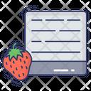 Strawberry Fruit Food Icon