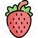 Strawberry Fruit Healthy Food Icon