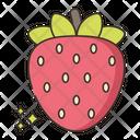 Strawberry Frsh Fruit Ruit Icon