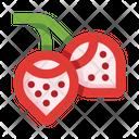 Strawberry Vitamin Diet Icon