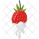Strawberry Splash Cream Icon