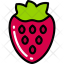 Strawberry Food Eating Icon