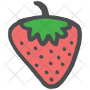 Strawberry Fruit Healthy Icon