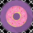Strawberry Donut Icon