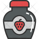 Strawberry Jam Icon