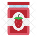 Jam Strawberry Sweet Icon
