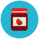 Strawberry Jam Icon