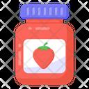 Food Jar Jam Marmalade Jar Icon