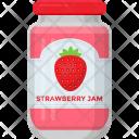 Strawberry Jam Raspberry Icon