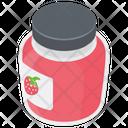 Jam Jar Preserved Food Marmalade Icon