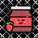 Strawberry Jam Jar Strawberry Jam Jar Icon