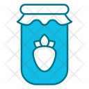 Strawberry jar Icon