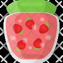 Strawberry Jar Preserved Icon