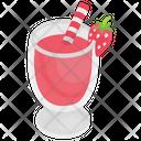 Strawberry Juice Cocktail Juice Icon