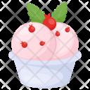 Strawberry Sundae Sorbet Icon