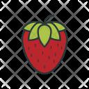 Strawberry Sweet Fruit Icon