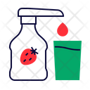 Strawberry Syrup Strawberry Syrup Icon