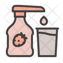Strawberry Syrup Icon