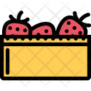Strawberry Vegetables Fruit Icon