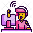 Streamer Stream Music Icon