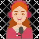 Streamer Live Stream Icon