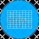 Streamgraph Curve Graph Statistics Icon