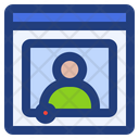 Streaming Multimedia Video Icon