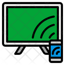 Streaming Share Screen Icon