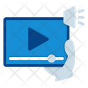 Streaming Video Stream Elearning Icon